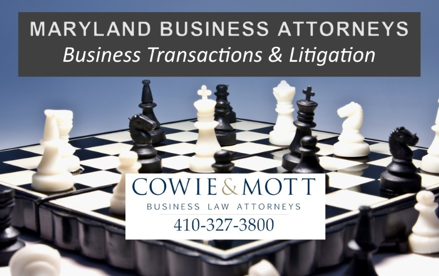 A Maryland Business Law Firm